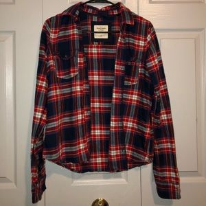 Abercrombie Soft Flannel